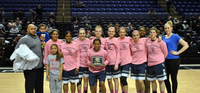 Penn State Women Basketball finish season 19-8; Photo courtsey of Bobbi Caprice