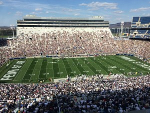 68,000 fans came out to enjoy the annual Blue & White Spring Practice