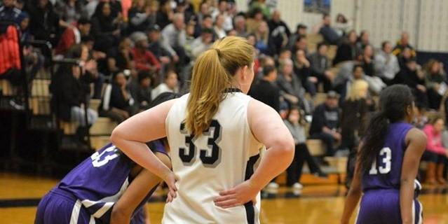 Melanie Kempf of Penn State Brandywine's Basketball Team