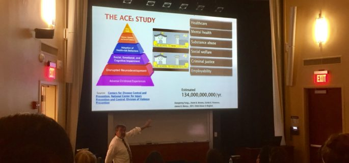Joseph Foderaro, LCSW, explains the ACE Study.